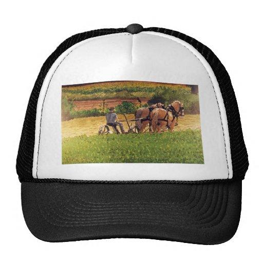 Cutting Hay Mesh Hats