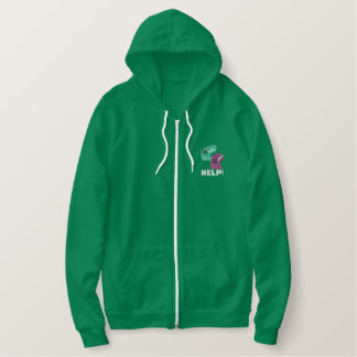 Cuttle Scuttle! Cute Pixel Art Cuttlefish Hoodie