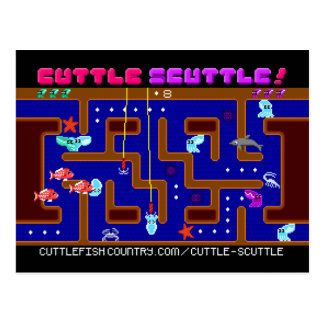 Cuttle Scuttle postcard