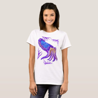Cuttlefish Artwork Women's T-shirt