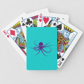 Cuttlefish Oktopus Krake octopus kraken Poker Deck