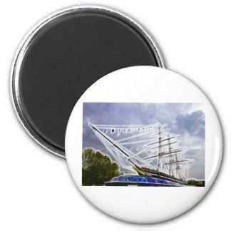 Cutty Sark Greenwich Fractals Magnet