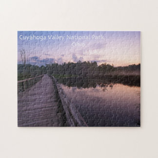 Cuyahoga Valley Beaver Marsh Puzzle with Gift Box