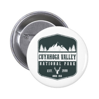 Cuyahoga Valley National Park 2 Inch Round Button
