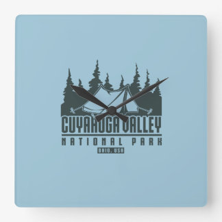 Cuyahoga Valley National Park Wall Clock