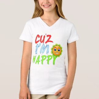 cuz i'm happy cute chic summer top