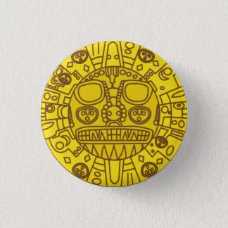 Cuzco Coat of Arms 1 Inch Round Button