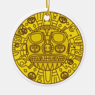 Cuzco Coat of Arms Ceramic Ornament