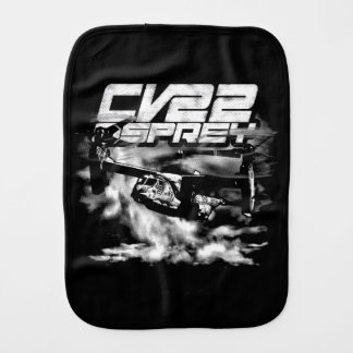 CV-22 OSPREY Baby Burp Cloth Burp Cloth
