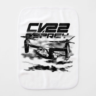 CV-22 OSPREY Burp Cloth Burp Cloth