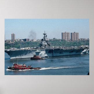 "CV-59 ""USS Forrestal"", fossil fuel, New York, U.S. Poster"