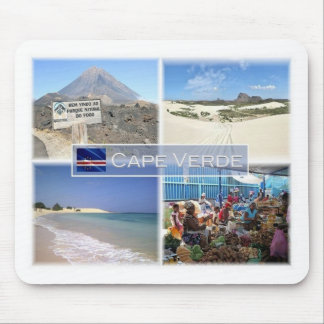 CV Cape Verde - Africa - Pico do Fogo - Mouse Pad