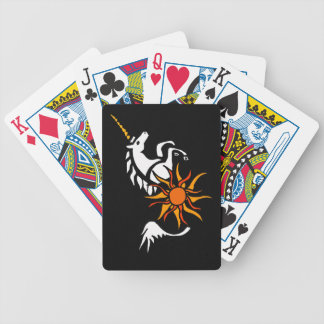 CV- Leaping Unicorn Playing Cards
