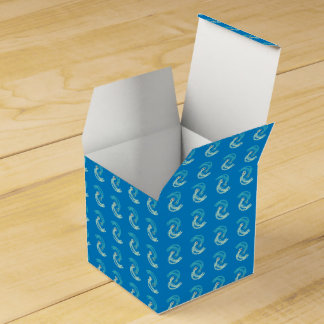 CVAn0042 Waterdrops Dancing Wedding Favor Box