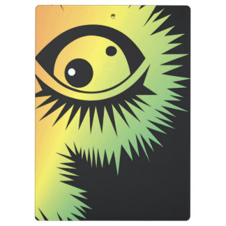 CVAn0046 Fussy Monster Eye Watching You Clipboard