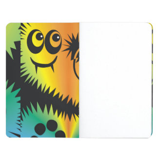 CVAn0047 Fussy Monster Happy Party Goers Journal