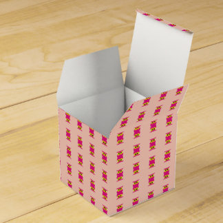 CVAn0051 Pink Owl Twins Wedding Favor Box