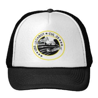 CVL-28 USS CABOT Multi-Purpose Light Aircraft Carr Trucker Hat
