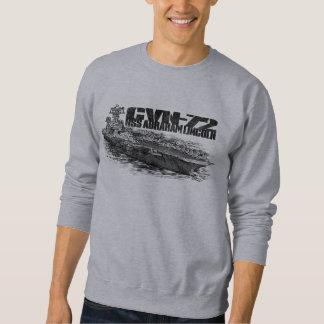 CVN-72 Abraham Lincoln Men's Basic Sweatshirt