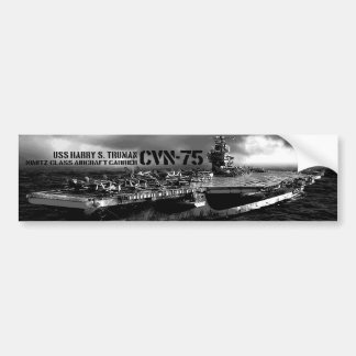 CVN-75 Harry S. Truman Bumper Sticker
