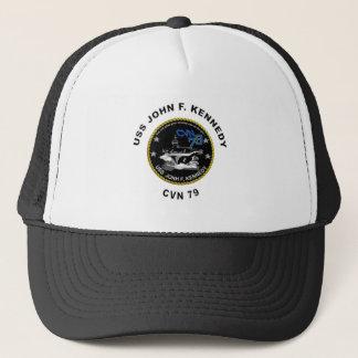 CVN-79 USS John Kennedy Trucker Hat