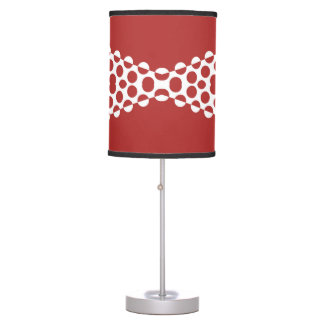 CVPA20031 Red Afternoon Bubbles Table Lamp