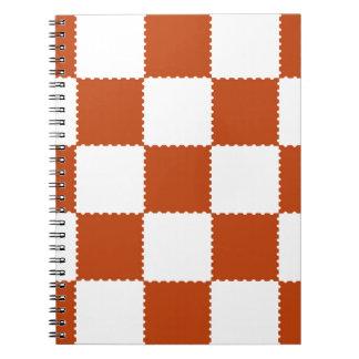 cvrdhcheckerboard pattern notebook