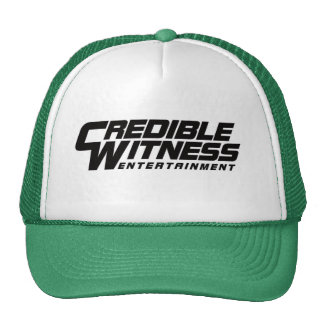 CW Green Cap Trucker Hat