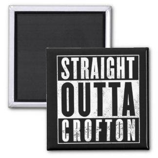CWA STRAIGHT OUTTA CROFTON SQUARE MAGNET