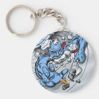 cwcover basic round button keychain
