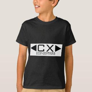 CX Basic Black on White T-Shirt