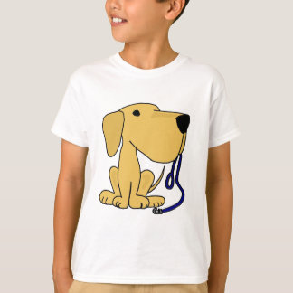 CX- Cute Dog with Leash T-Shirt