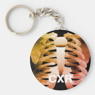 CXR Chest X-Ray Keychain