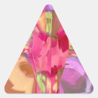 Cxxcnabnpture Triangle Sticker
