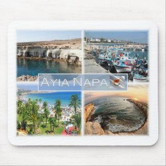 CY Cyprus - Ayia Napa - Caves Port - Mouse Pad