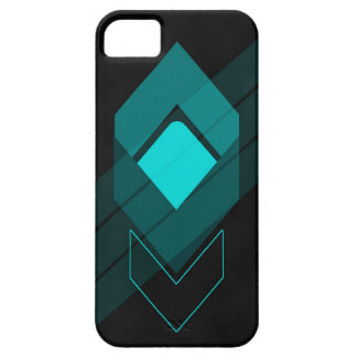Cyan Arrows iPhone 5 Cover