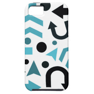 Cyan direction iPhone 5 cases
