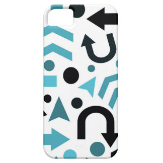 Cyan direction iPhone 5 cover