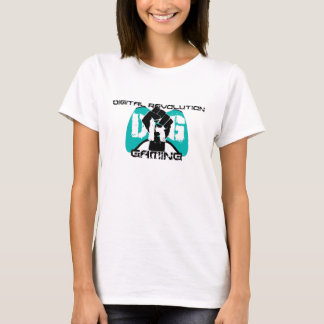 Cyan Logo T-Shirt: Women's White T-Shirt