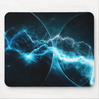 Cyan storm mousepad