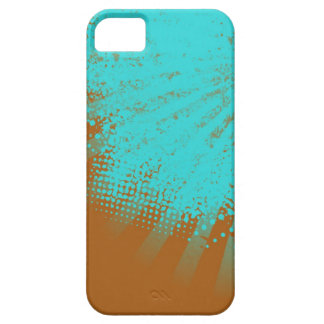 cyan stripes case for the iPhone 5