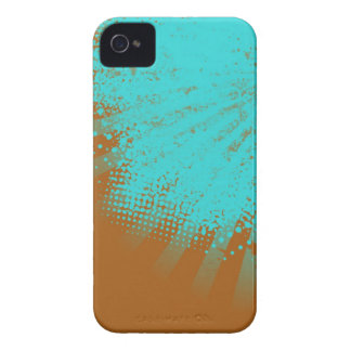 cyan stripes iPhone 4 Case-Mate cases