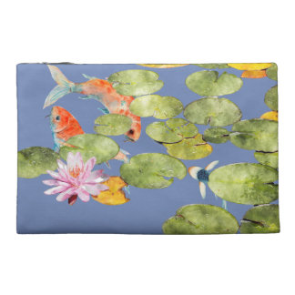 Cyanicity Koi Pond Travel Bag Travel Accessory Bags