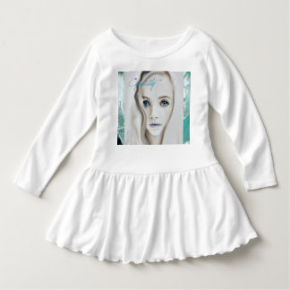 Cyanicity Rose girls ruffle tee