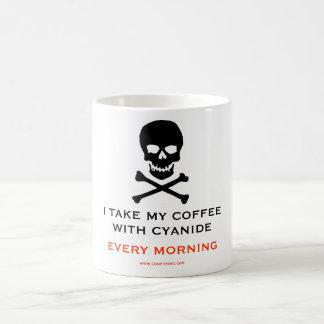 CYANIDE, SUICIDE, POISON COFFEE MUG