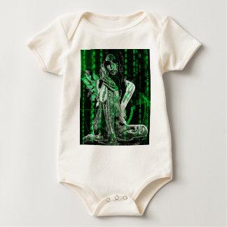 Cyber angel baby bodysuit