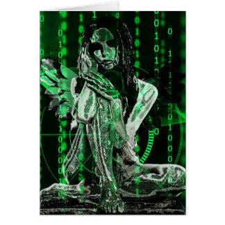 Cyber angel card