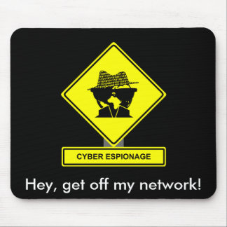 Cyber Espionage Mousepad