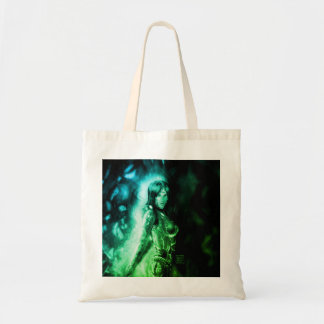 Cyber Girl Tote Bag