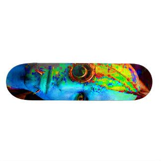 cyber goth skate deck